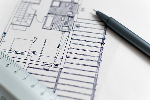 Abbildung technische Zeichnung